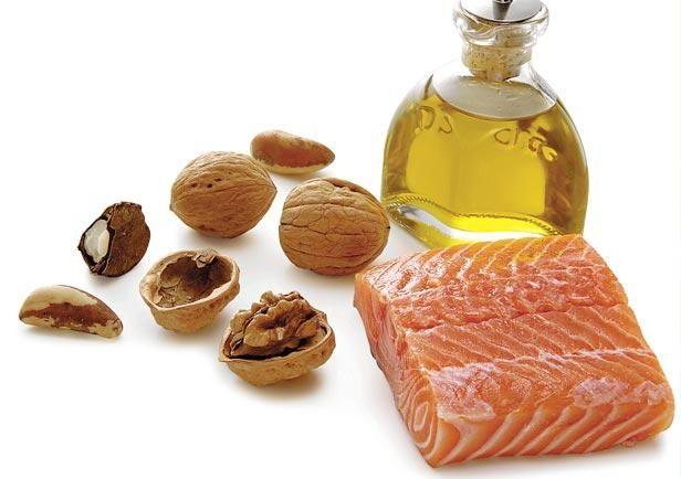Omega-3 zit o.a. in vette vis en noten