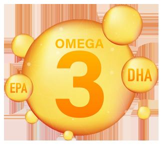 De samenhang van omega-3, EPA en DHA